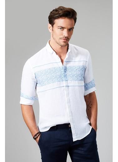 Avva Slim Fit Uzun Kollu Gömlek Beyaz